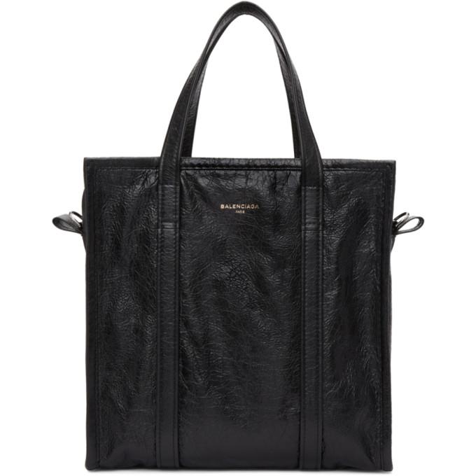 Balenciaga Black Small Bazar Shopper Tote
