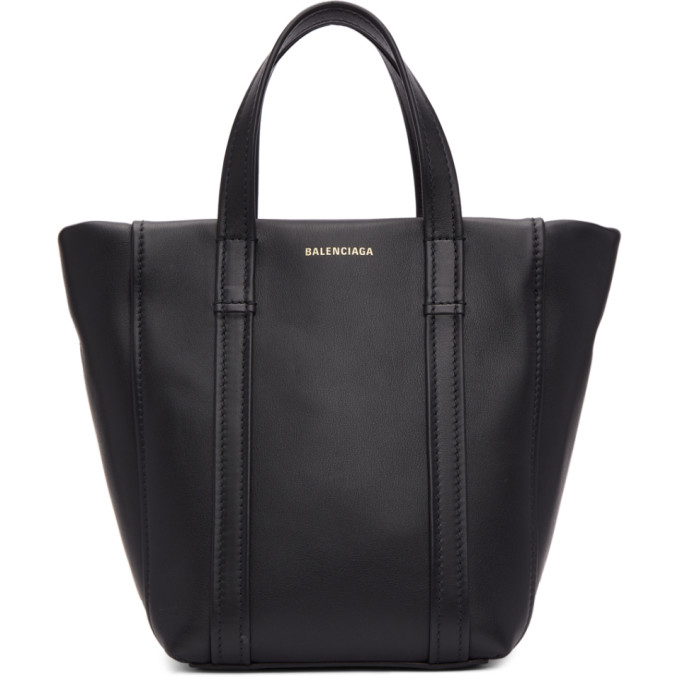a4a8cd4929c Balenciaga Black Extra Small Laundry Cabas Tote