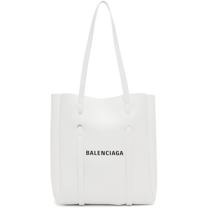 Balenciaga White Xs Everyday Tote in 9060 Blanc