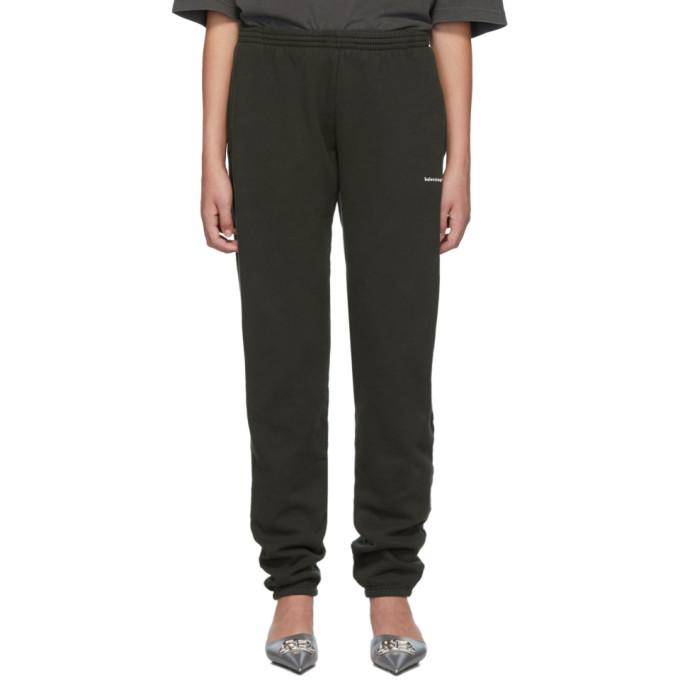 Balenciaga Pantalon de survetement noir Jogger