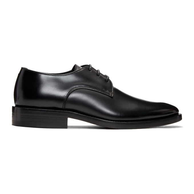 Balenciaga Black Semi-Gloss Oxfords