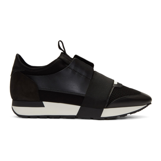Balenciaga Black Race Sneakers