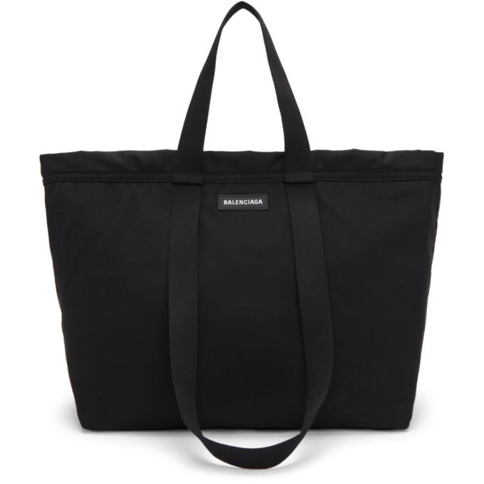 Balenciaga ブラック カジュアル ショッパー トート