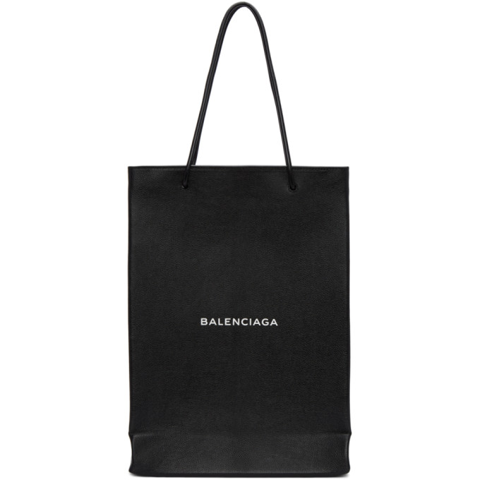 Balenciaga ブラック ロゴ ショッパー トート