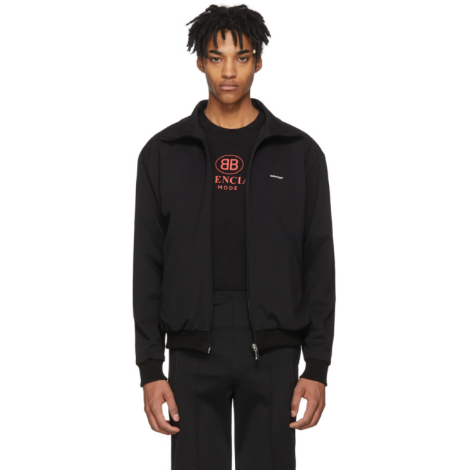 Balenciaga Black Tracksuit Jacket