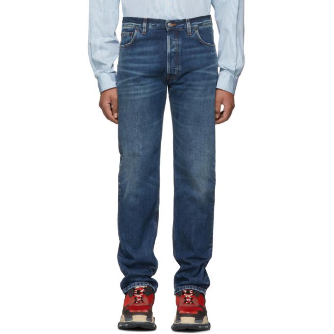 Balenciaga ブルー オリジナル 5 ポケット ジーンズ