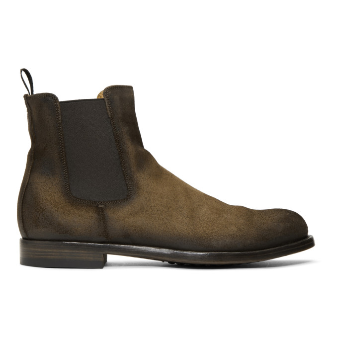 Officine Creative Brown Tempus Aeoro Hunger 016 Boots