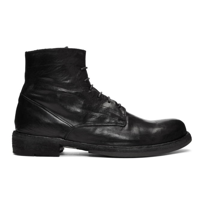 Image of Officine Creative Black Ikon 18 Boots
