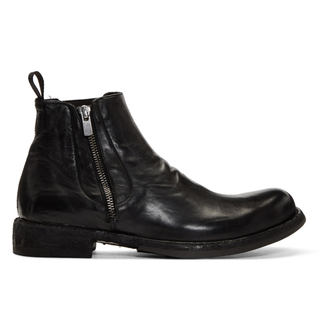 Officine Creative Black Ikon 39 Boots