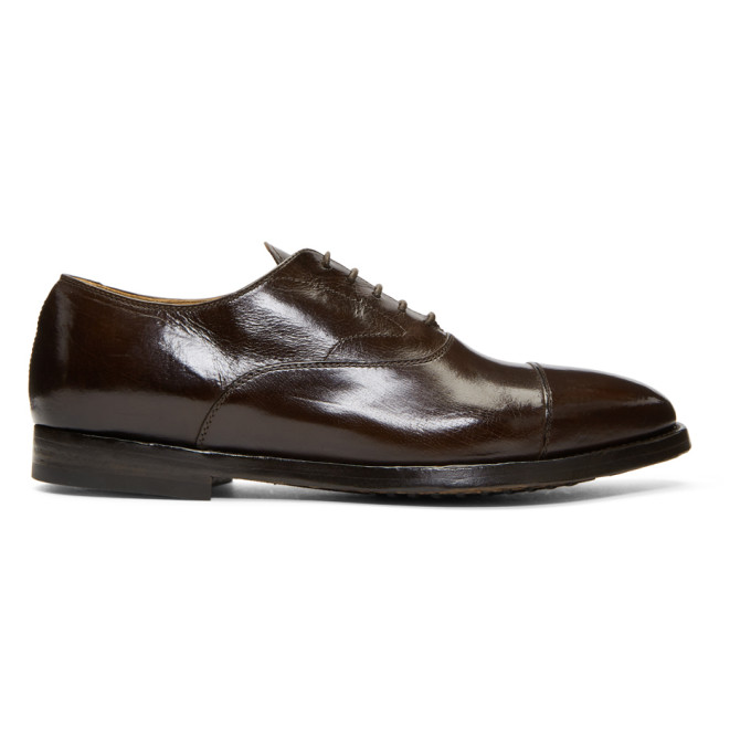 Officine Creative Brown Herve 2 Derbys