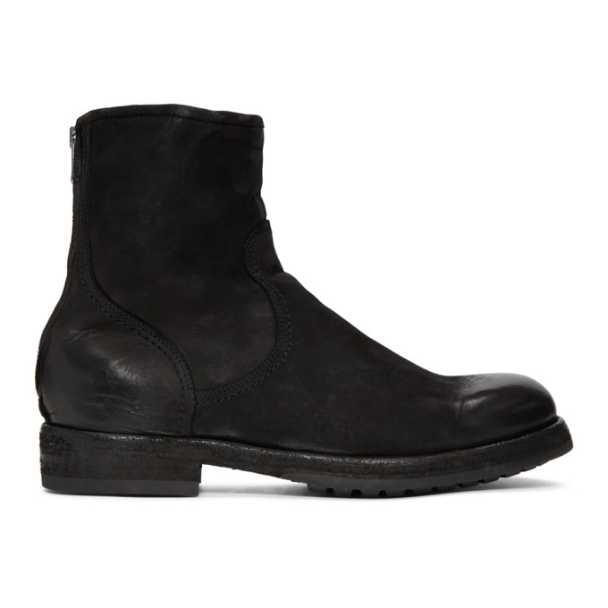 Officine Creative Black Lowry 006 Vertigo Boots