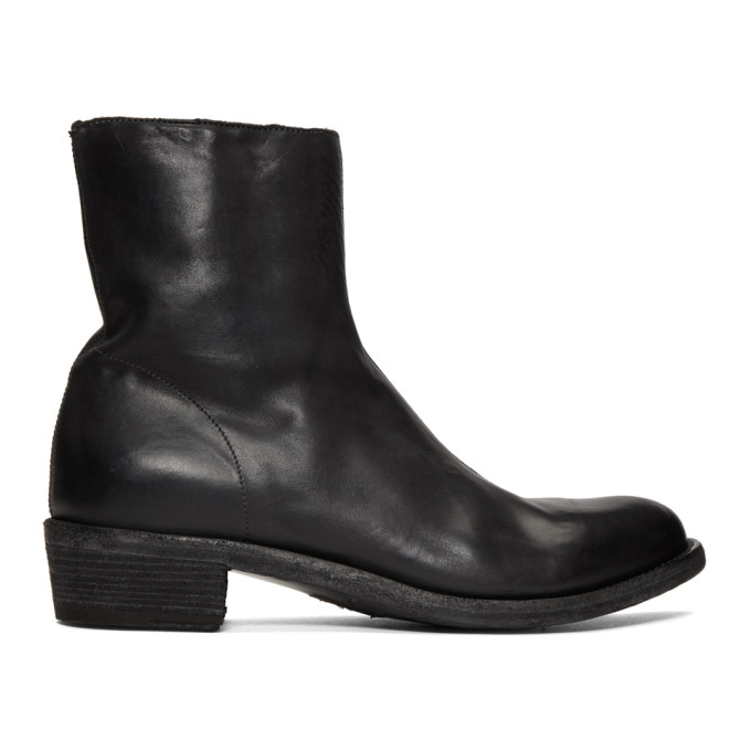 Officine Creative Black Ponti 001 Devil Boots