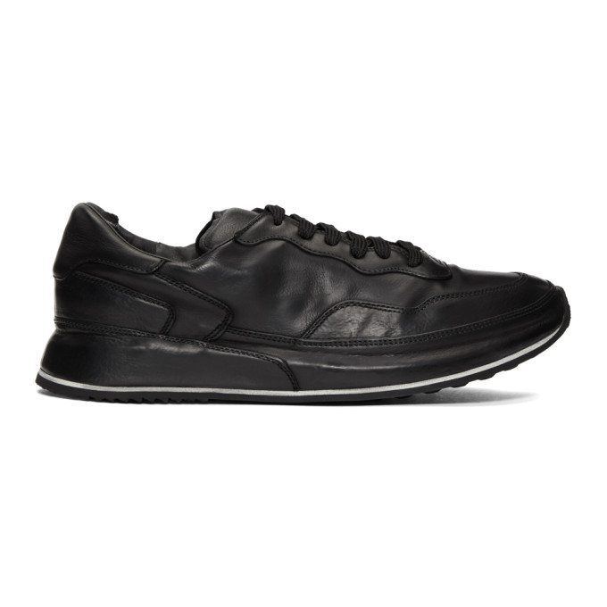 Officine Creative Black Race 018 Sneakers