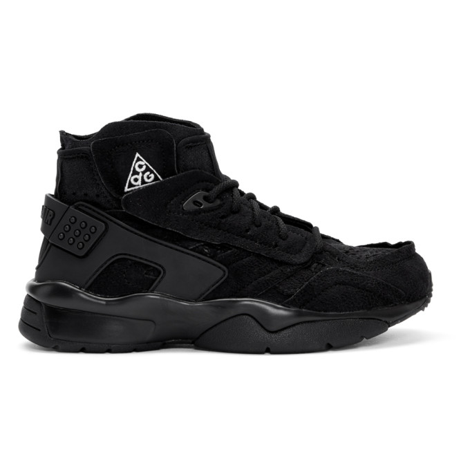 Black Nike Acg Edition Air Mowabb Sneakers in 1 Black