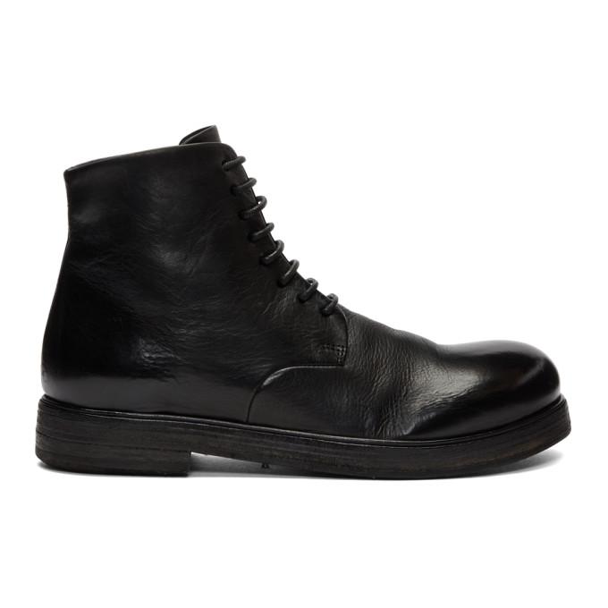 Mars�ll Black Zucca Zeppa Boots