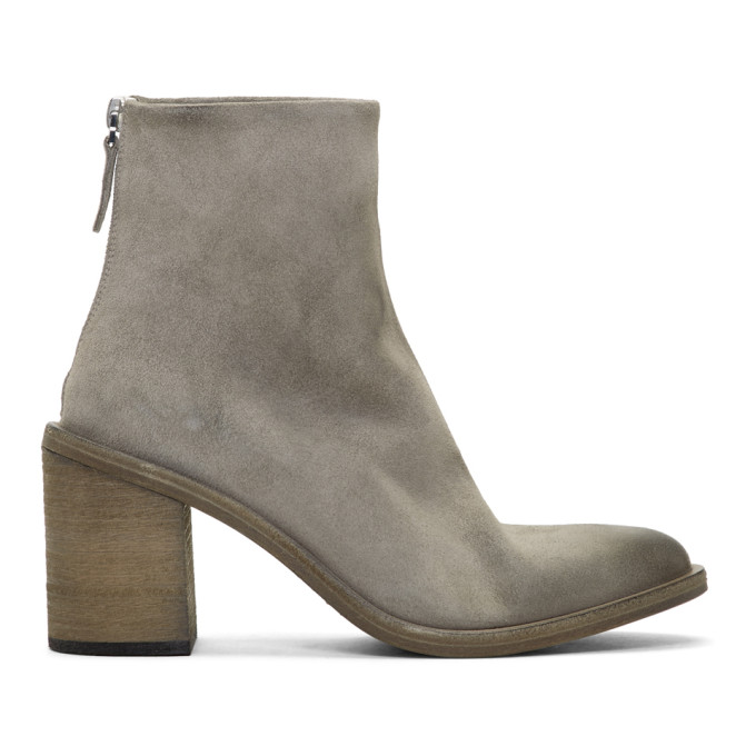 Mars�ll Grey Tapiro Ankle Boots
