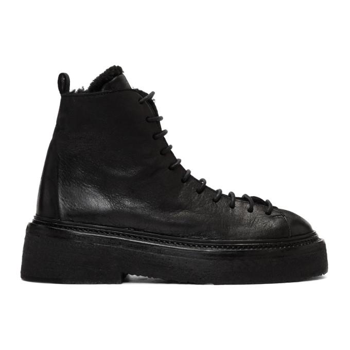 Mars�ll Black Parruccona Platform Boots