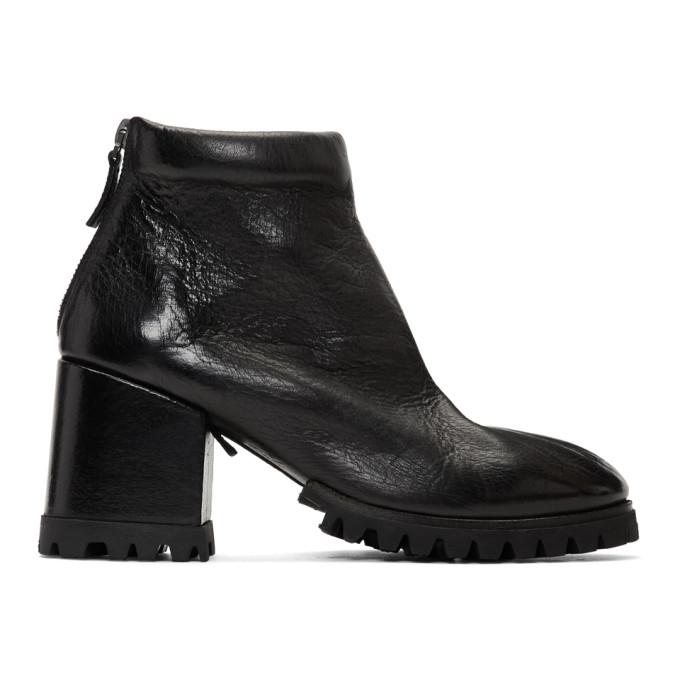 Mars�ll Black Dente Lug Sole Boots