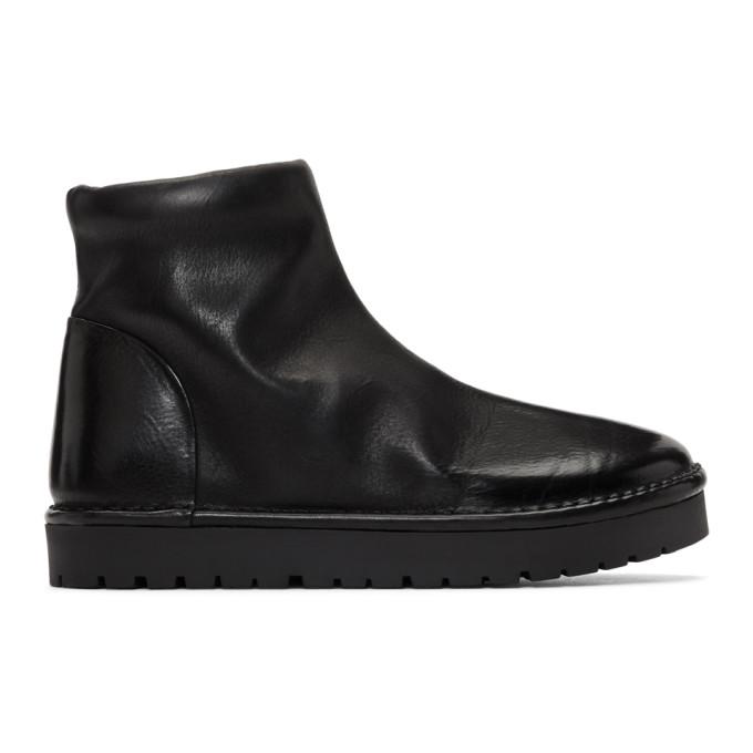Mars�ll Black Gomme Sanscrispa Alta Boots