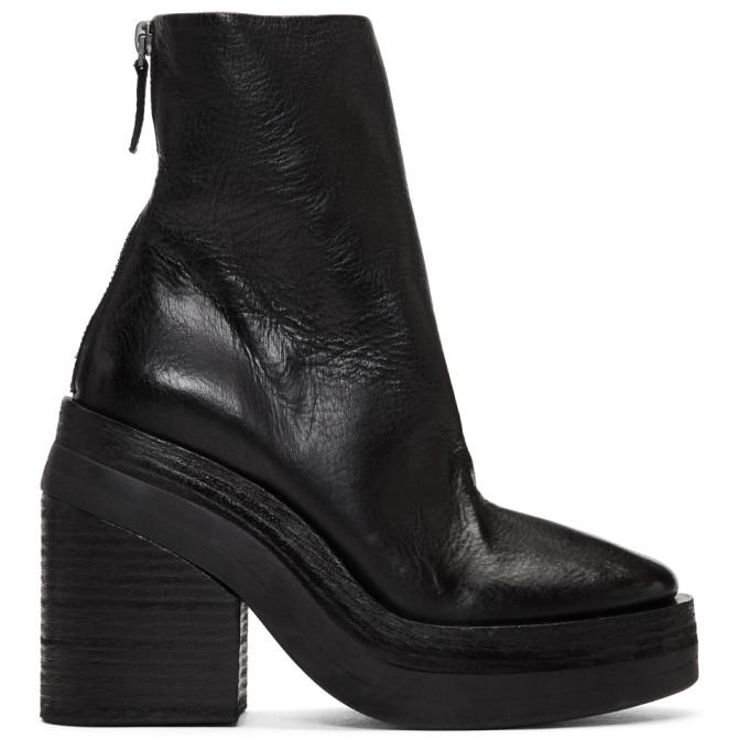 Mars�ll Black Stisicona Platform Boots