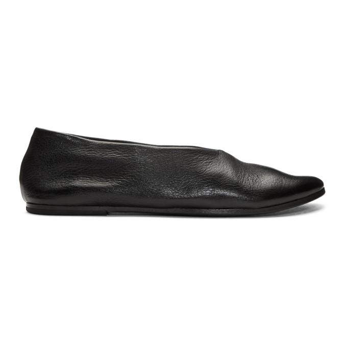Mars�ll Black Coltellaccia Ballerina Flats
