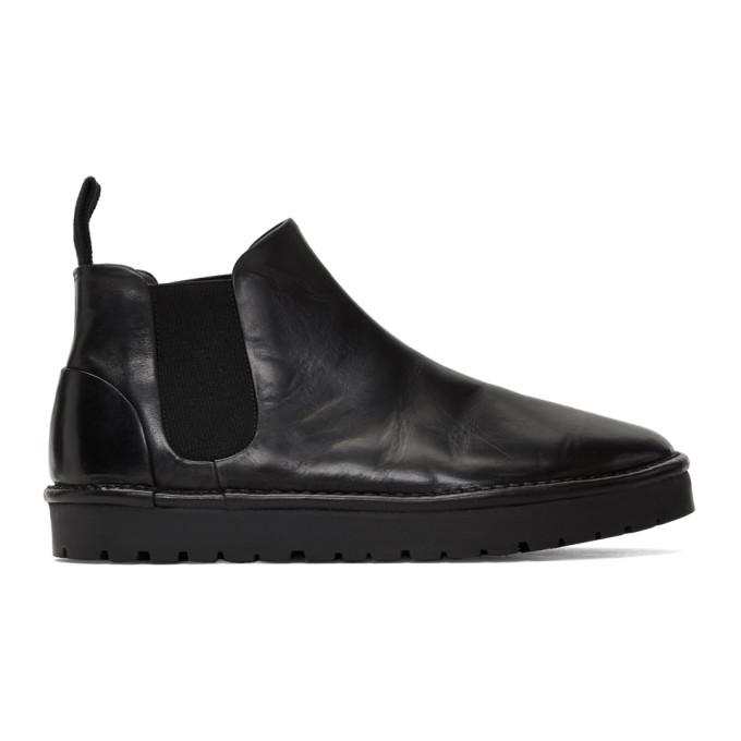 Mars�ll Black Gomme Sancrispa Alta Chelsea Boots