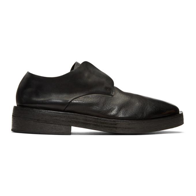 Mars�ll Black Listone Loafers