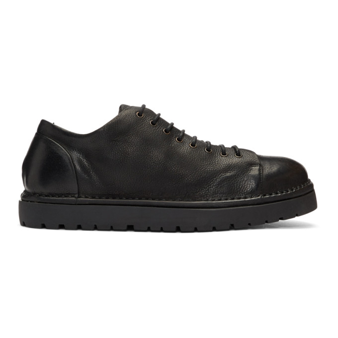 Mars�ll Black Pallotolla Lace-Up Sneakers