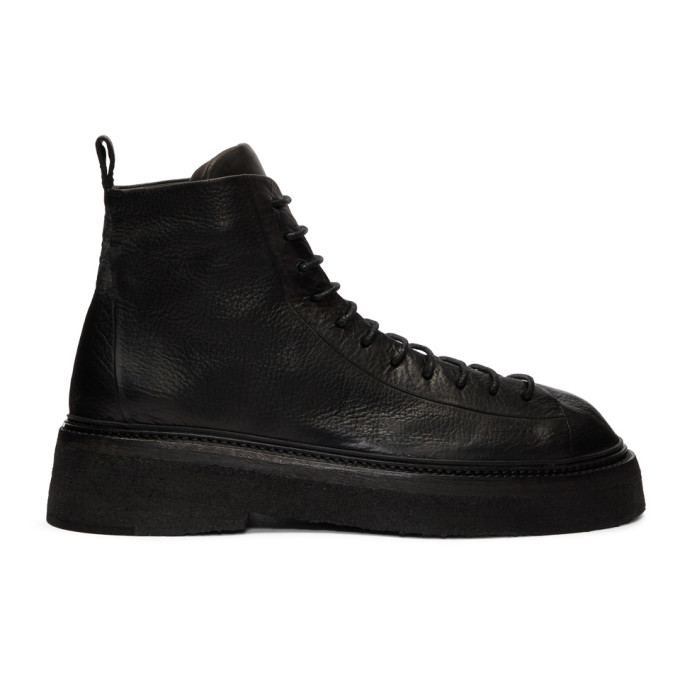 Mars�ll Black Parruccona Lace-Up Boots