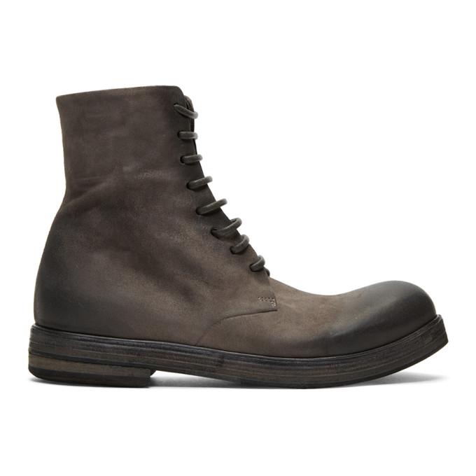 Mars�ll Grey Zucca Zeppa Boots