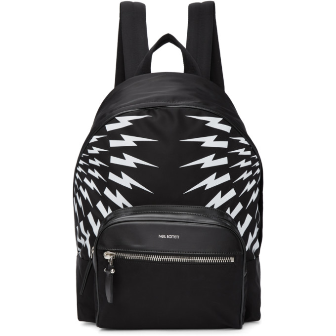 Neil Barrett Black Lightning Backpack