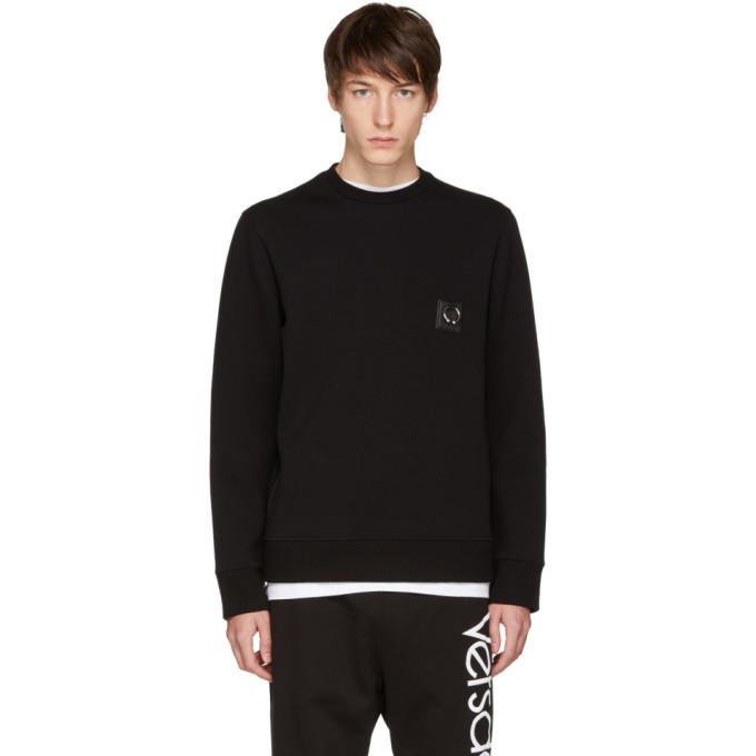 Image of Neil Barrett Black Barbell Sweatshirt