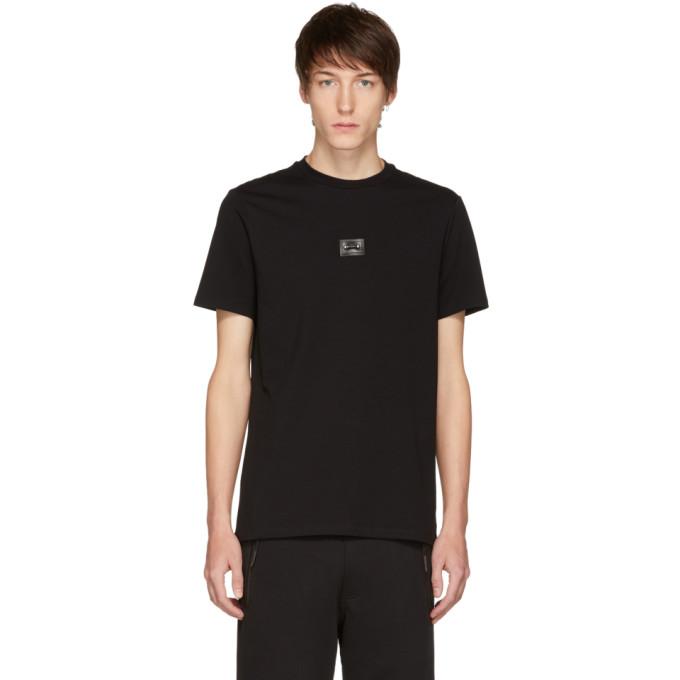 Image of Neil Barrett Black Barbell T-Shirt