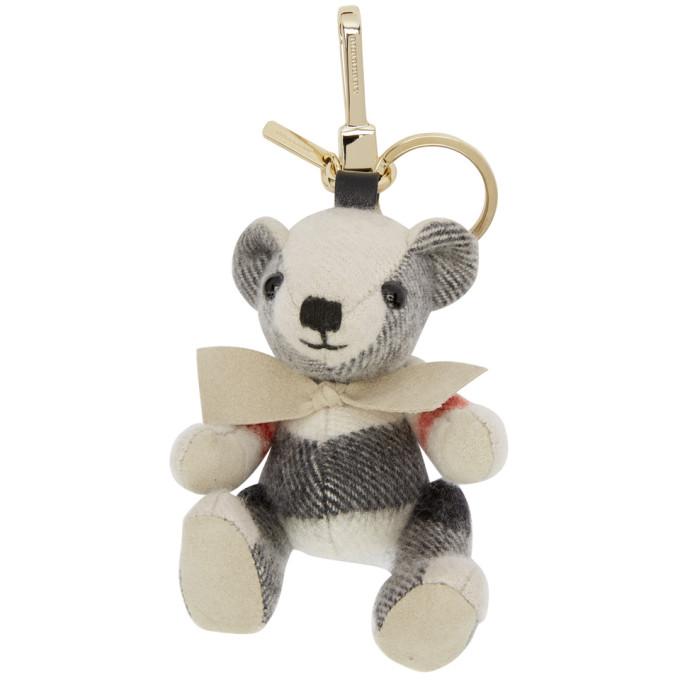 Burberry Grey Thomas Keychain