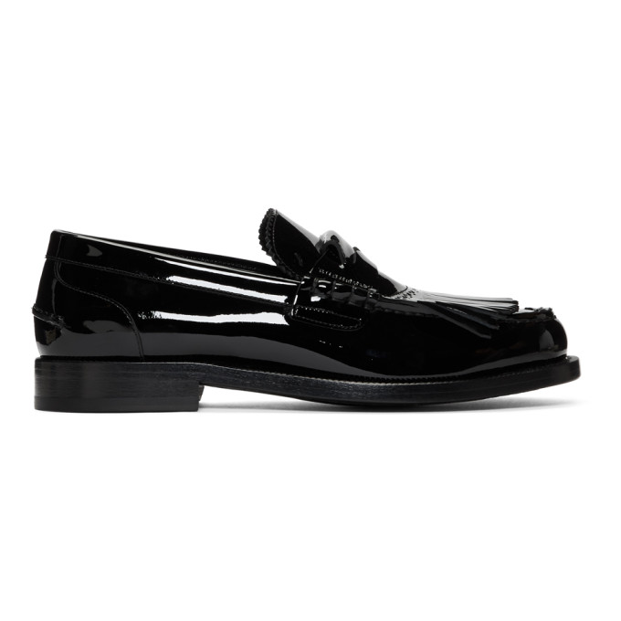 Burberry Black Bedmore Loafers