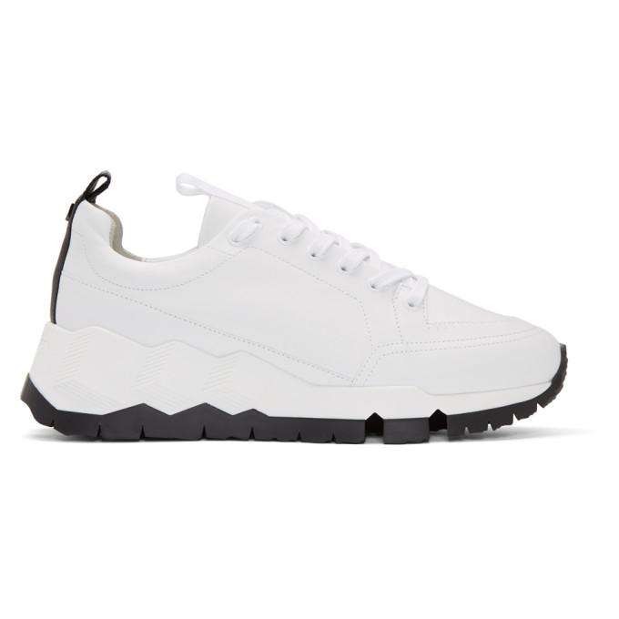 Pierre Hardy White & Black Street Life Sneakers