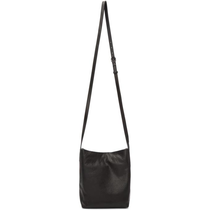 Ann Demeulemeester Black Floppy Leather Tote
