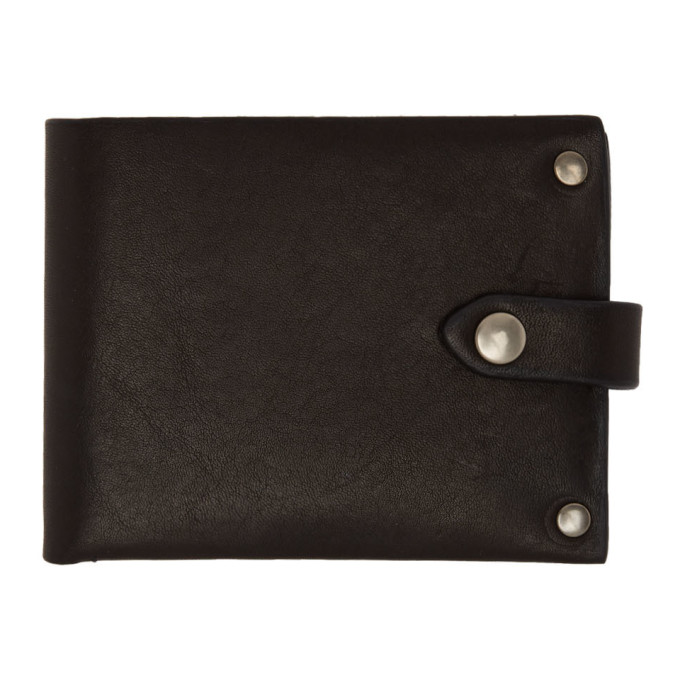 ANN DEMEULEMEESTER Portemonnaie Mit Druckknopflasche in Black