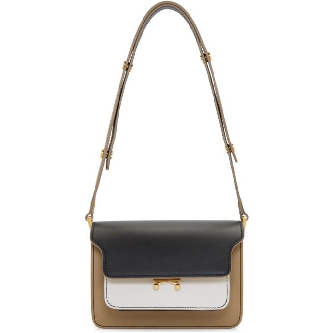 Marni Beige Small Trunk Bag