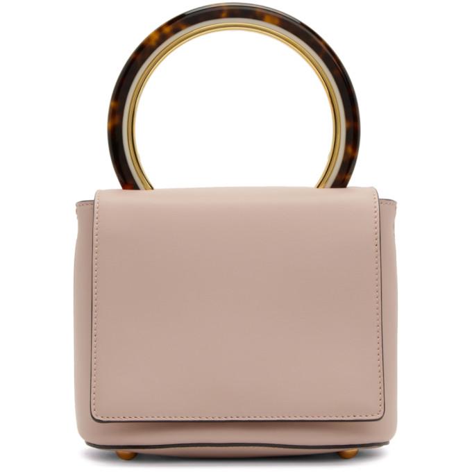 Marni Pink Circle Handle Flap Bag