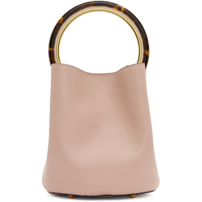 Marni Pink Mini Pannier Bucket Bag