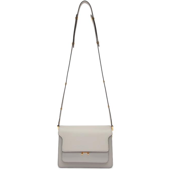 Marni Grey Medium Trunk Bag