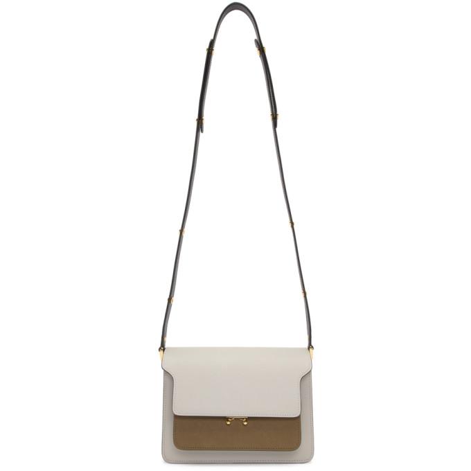 Marni Tricolor Medium Trunk Bag