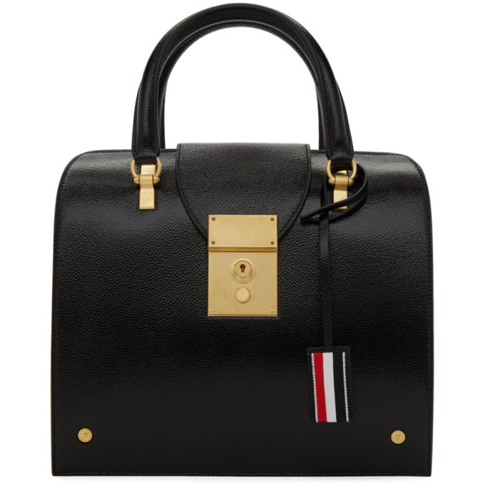 Thom Browne Black Mrs Thom Jr. Duffle Bag