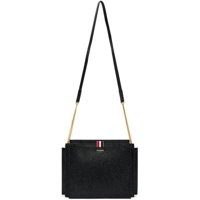 Thom Browne Black Accordion Bag