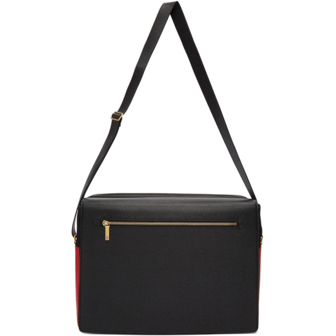 Thom Browne Black Messenger Bag