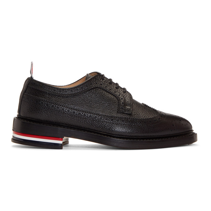 Thom Browne Classic Longwing Brogues - Black