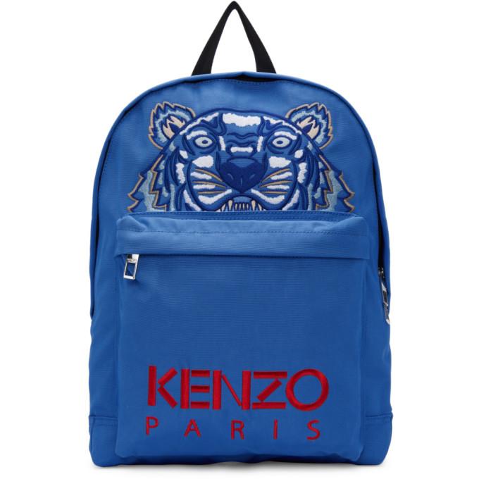 Kenzo Blue Tiger Capsule Backpack