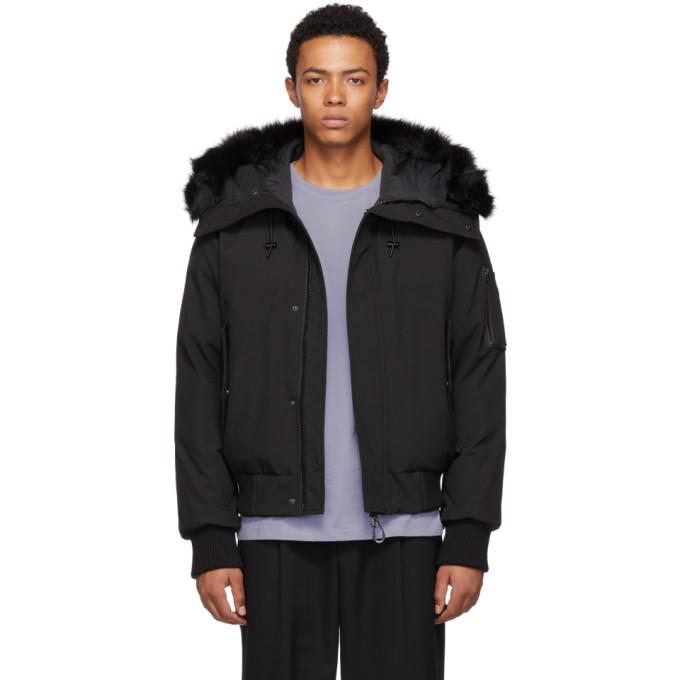 9beeb657 Kenzo Black Hooded Winter Down Jacket