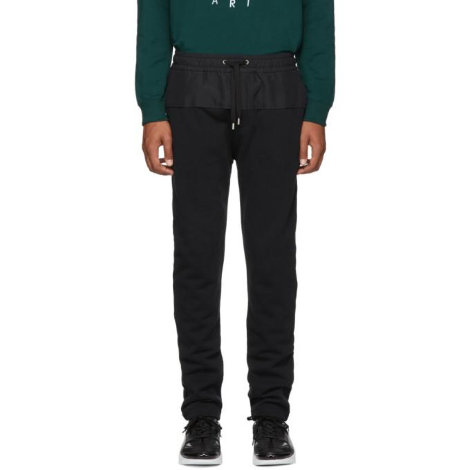 Kenzo Pantalon de survetement noir Jogger